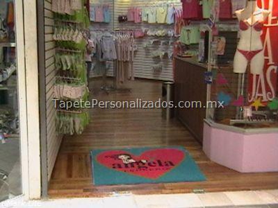 tapetes para tienda